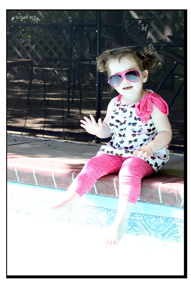 poolside kids tunic top