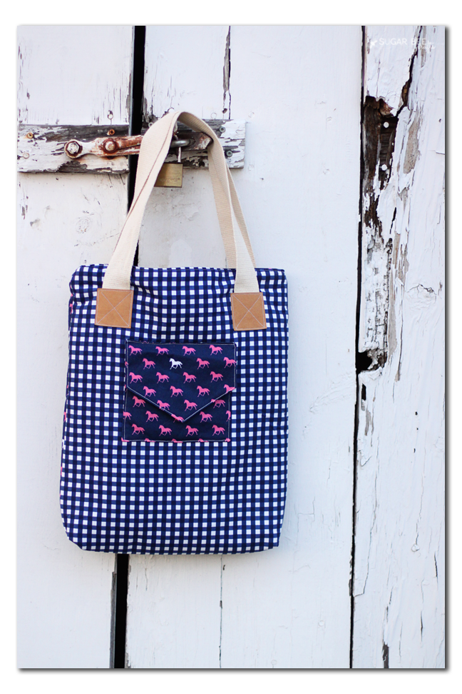 sew a derby tote bag