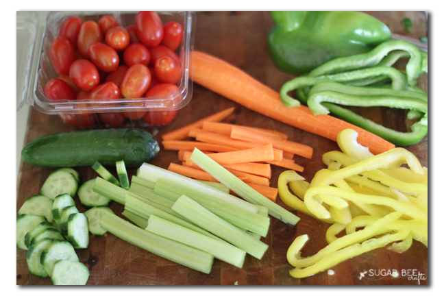 veggie summer snack idea