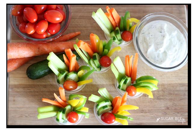veggie tray alternative - summer party snack idea