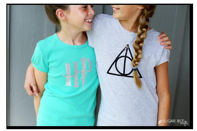 Diy Harry Potter Tshirts Sugar Bee Crafts