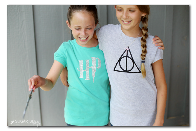 harry potter tee to make on your own