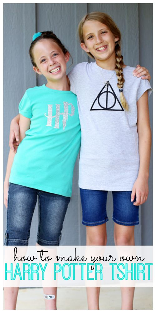 how to make your own harry potter tshirt