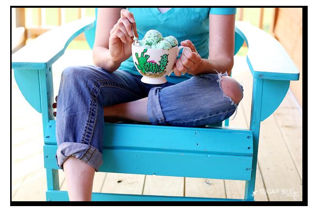 mug gift ice cream cactus