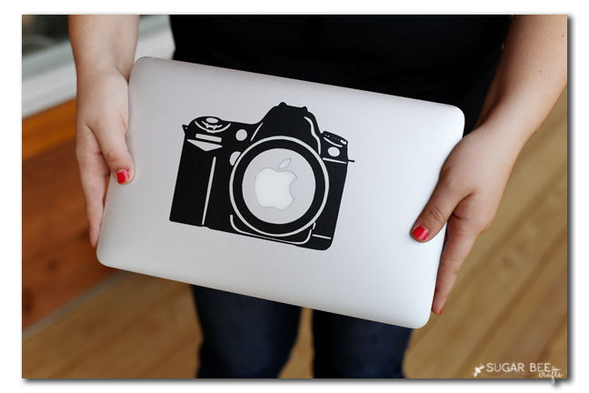 camera macbook vinyl decal