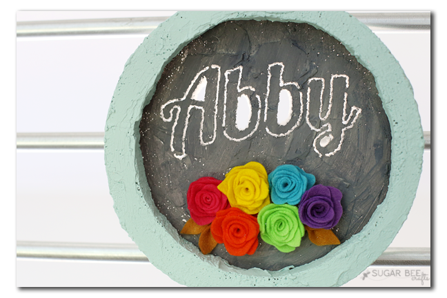 circle frame foam personalized