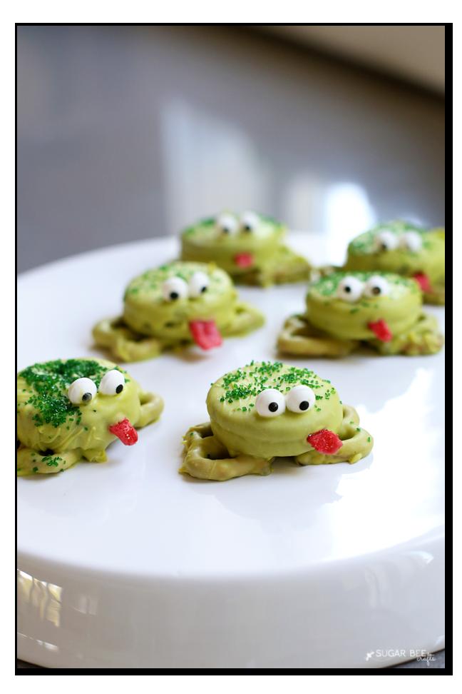 diy frog cookies