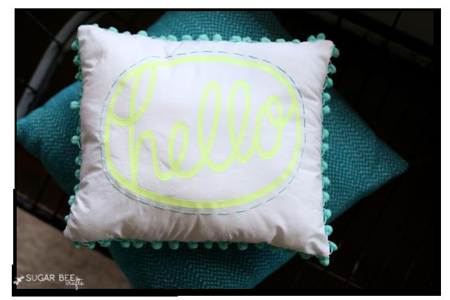 hello pillow make yourself