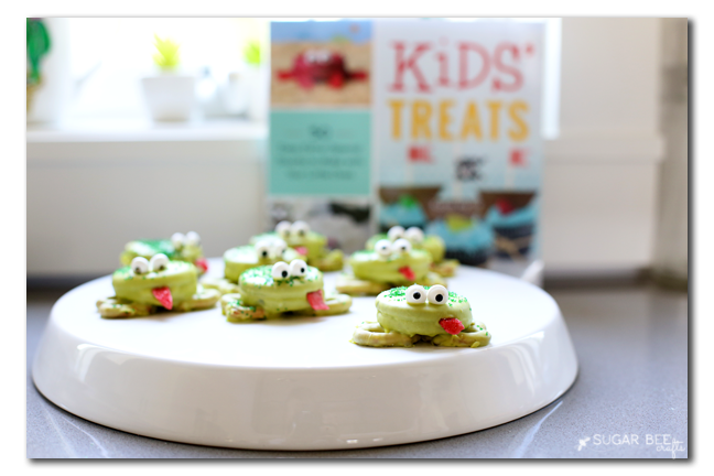 kids' treats oreo frogs