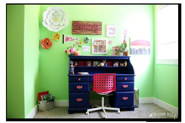 painted desk tween room how to
