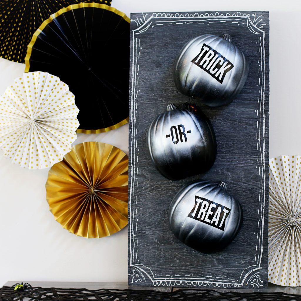 trick or treat pumpkins square