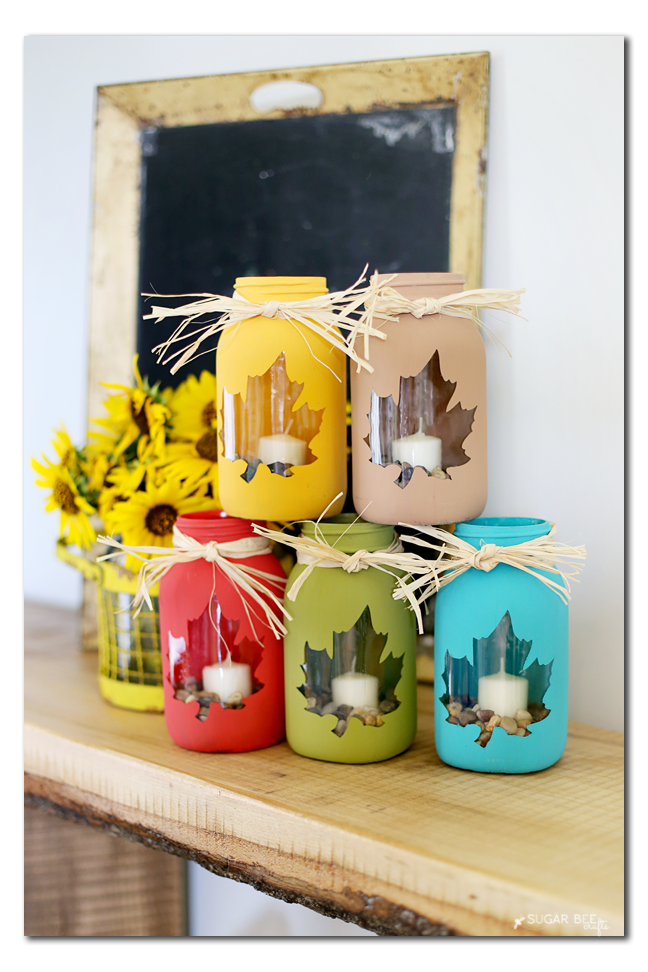 Mason Jar Diy Craft Ideas Decor Projects For The Fall