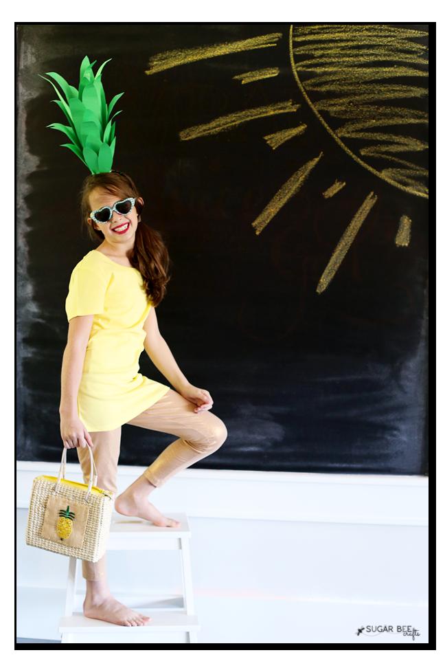 pineapple easy cute costume idea
