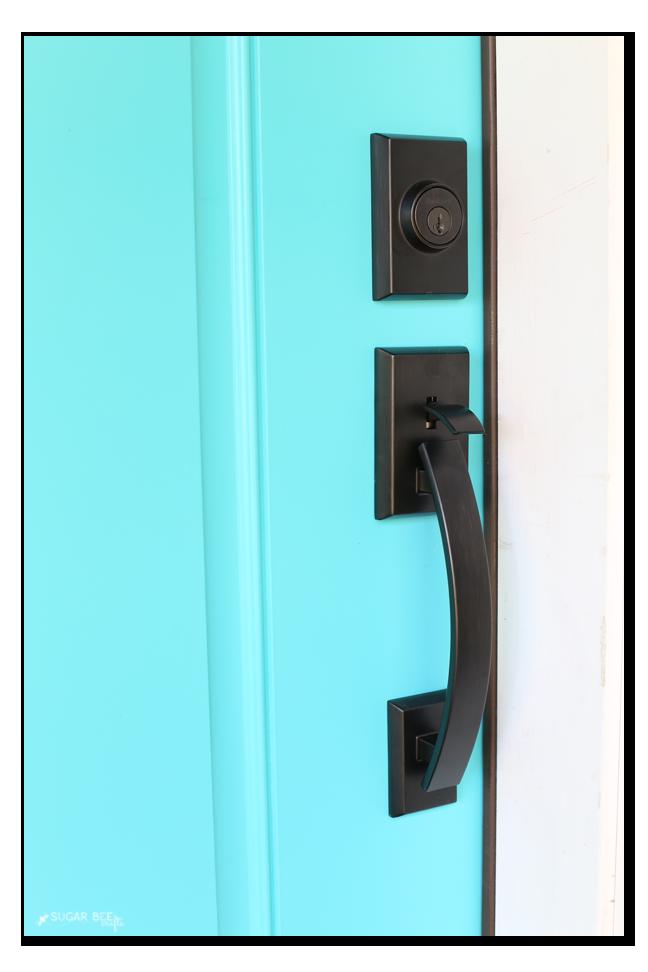 craftsman style front door handle