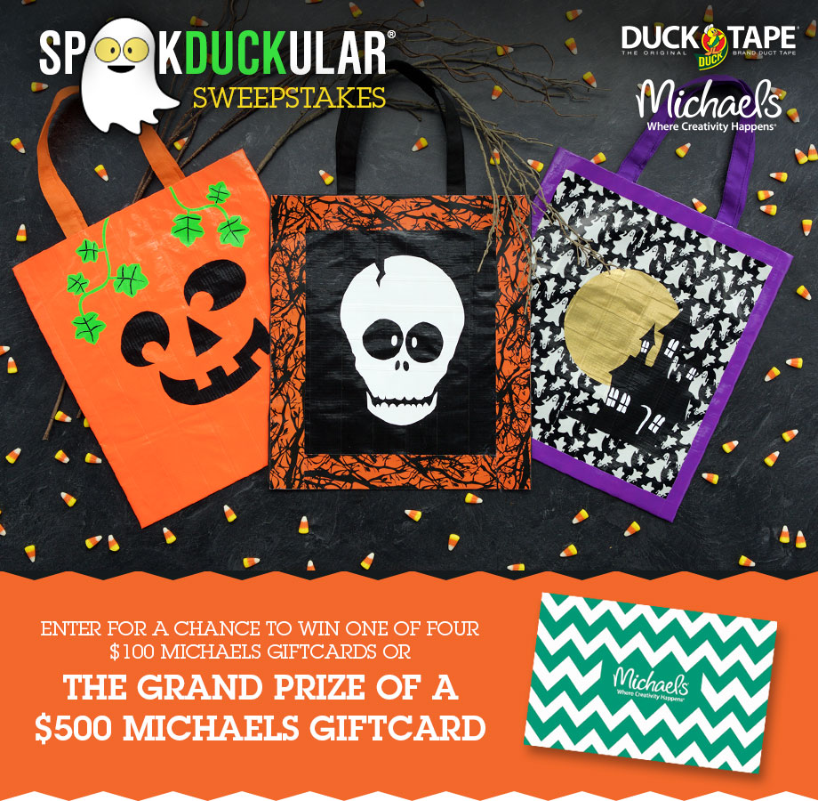 duck tape spooktacular