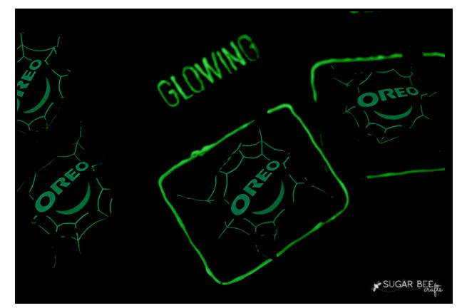 glow halloween treat