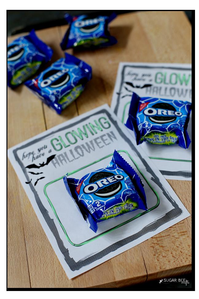 glow oreo snack pack