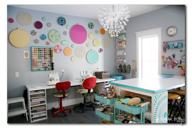 craft rooms ideas decorating craft room organization sugar bee crafts 4038