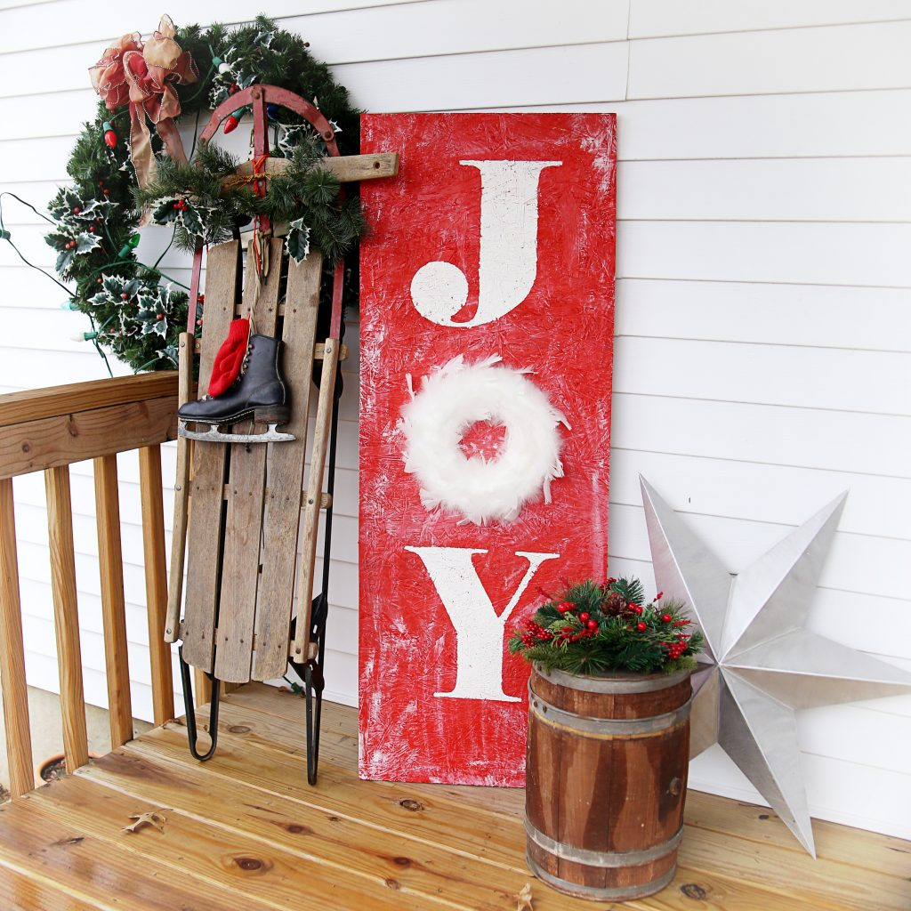 joy sign square