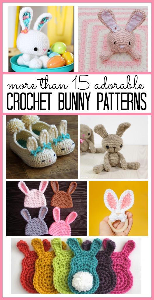 Crochet bunny patterns