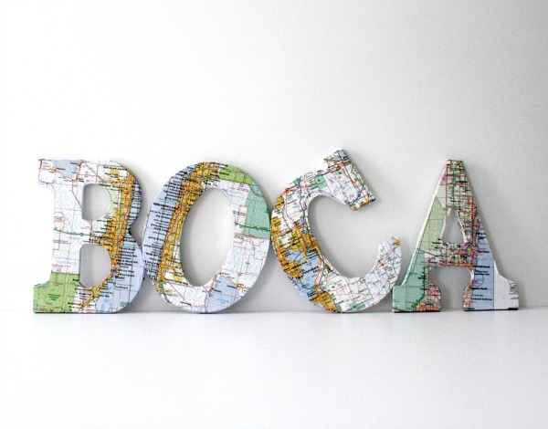 DIY-Map-Letters-Tutorial-Bright-Bold-and-Beautiful