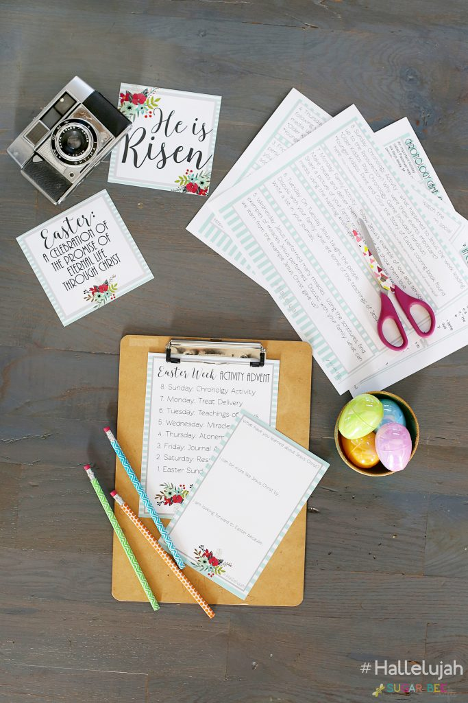 Easter Week Advent Printables