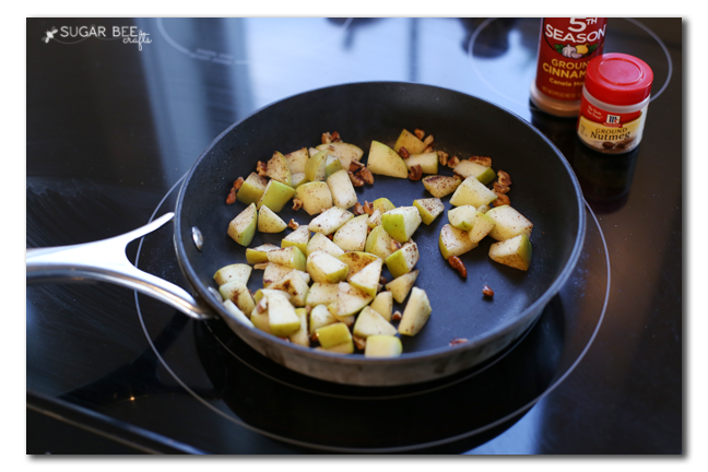 healthy apple pie alternative