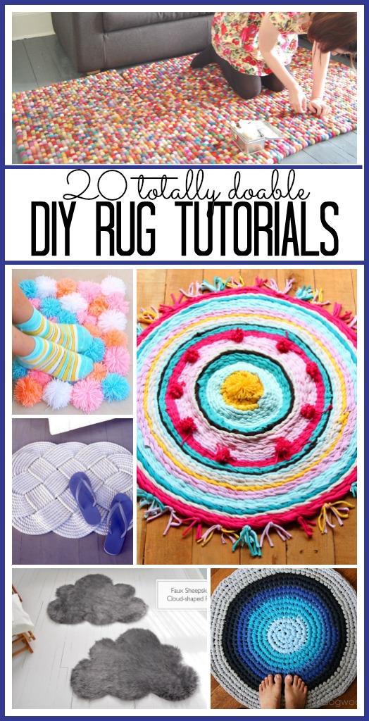 20 DIY Rugs