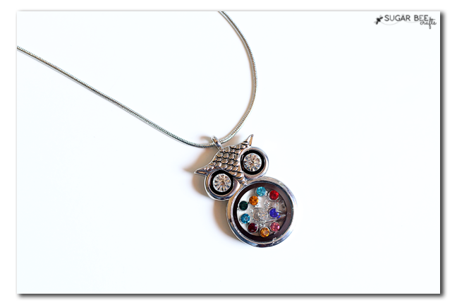 birthstone owl locket how to