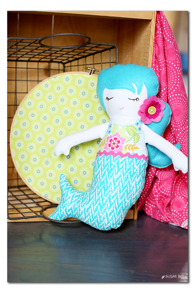 mermaid doll simplicity 8067