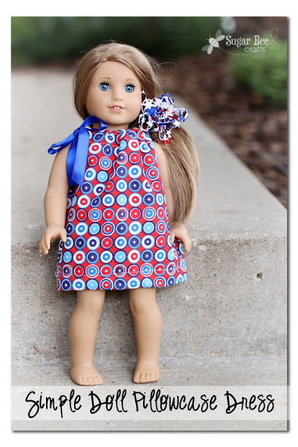 simple fat quarter doll dress copy
