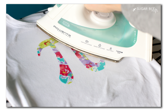 simple tee applique