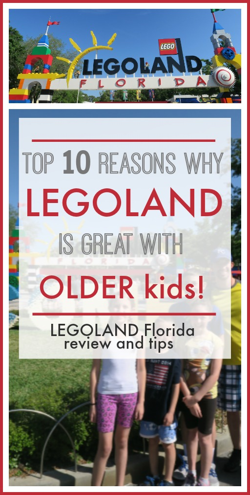 Legoland florida with older kids review and tips