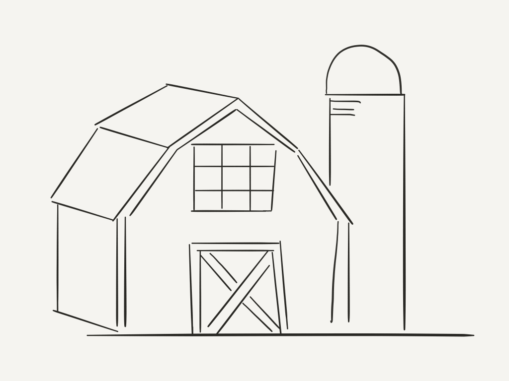 barn quilt coloring page