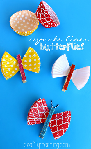 cupcake-liner-butterfly-clothespins-craft