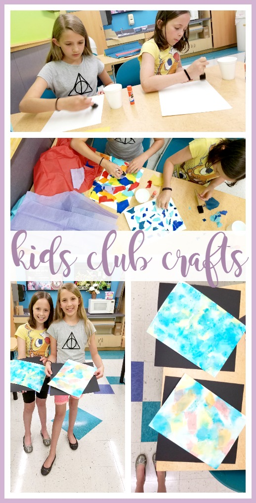 kids club crafts