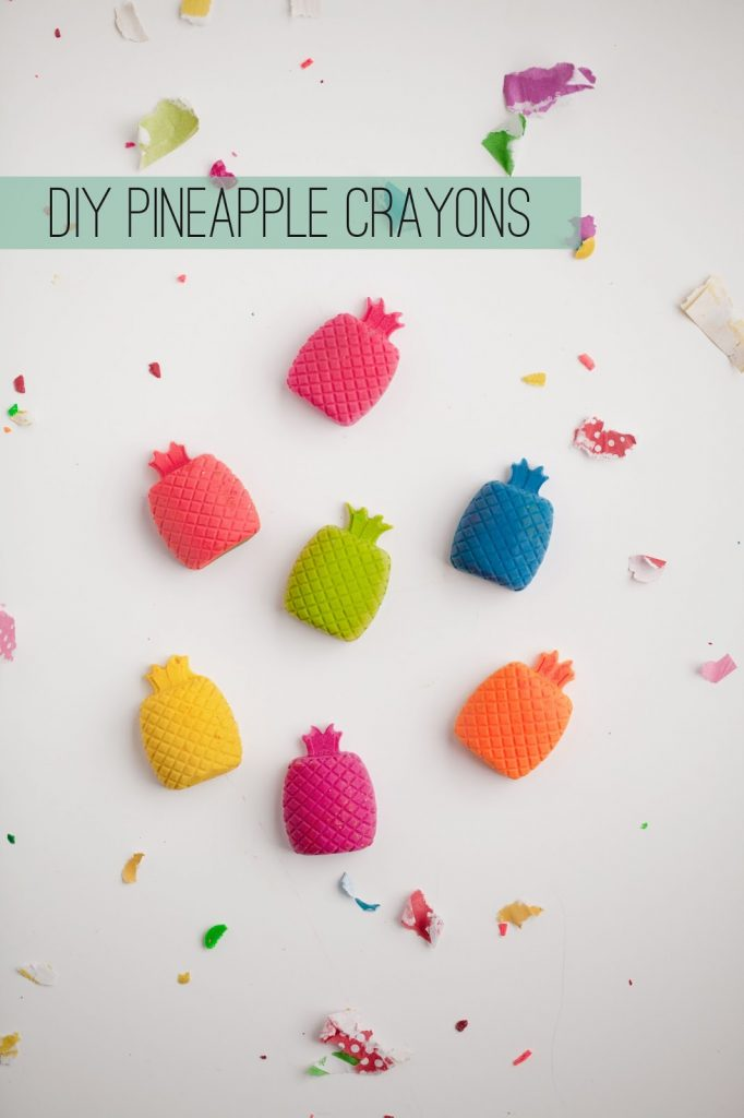 pineapple crayons