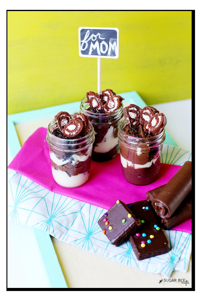 triple chocolate little debbie trifle