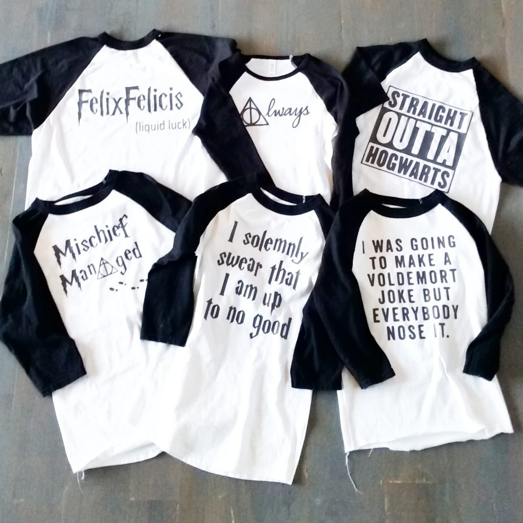 DIY Harry Potter Tees