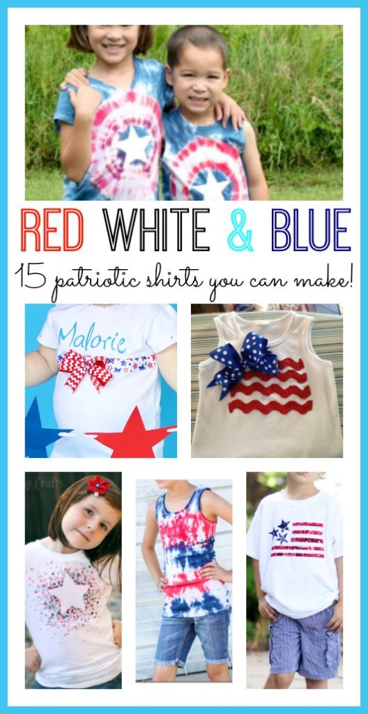Red White and Blue Shirts