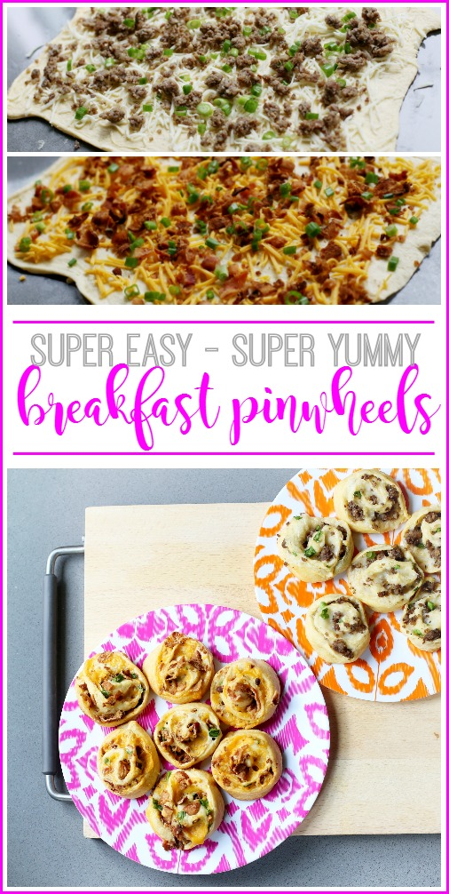 breakfast pinwheel recipe easy brunch snack idea