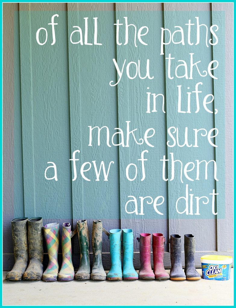 dirt quote outdoors