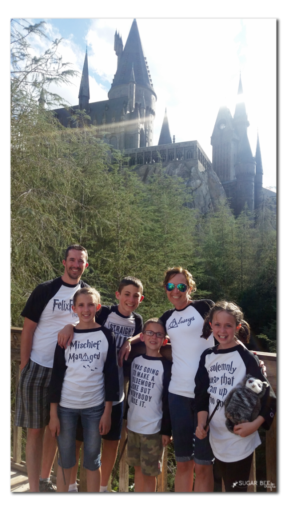harry potter family shirts