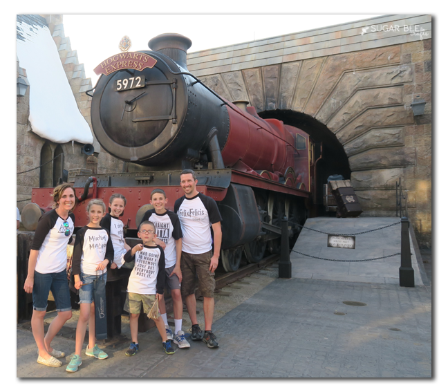 harry potter hogswarts express tees