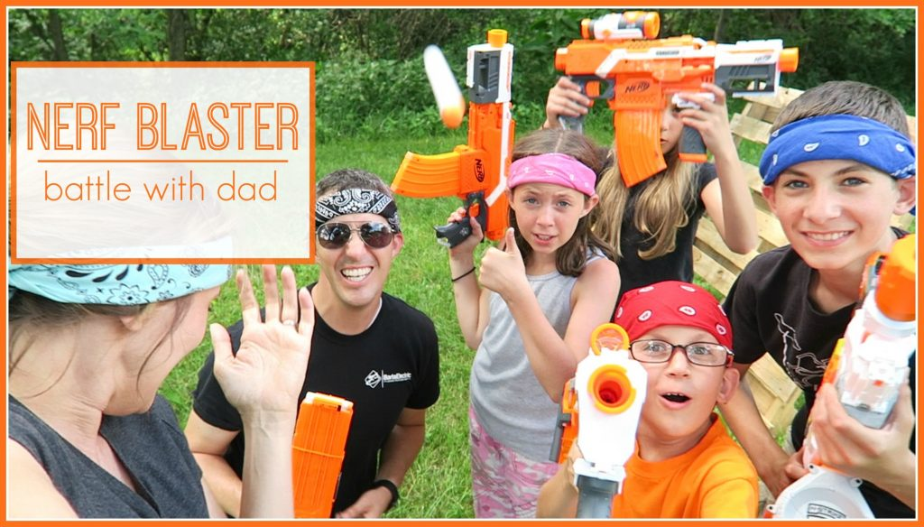 Nerf Blaster Battle Gift Idea for Dads