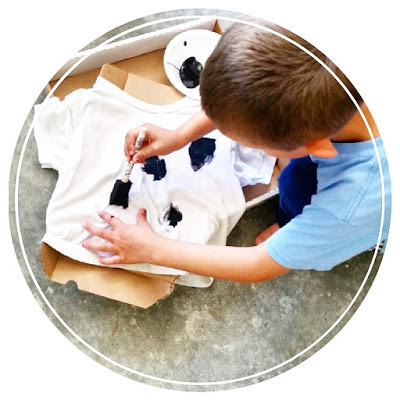 diy cow shirt