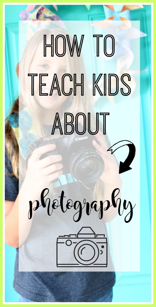 how to teach kids about photography