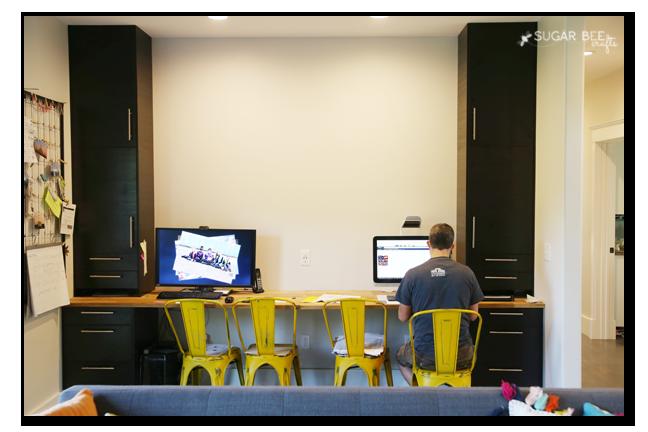 diy computer desk large