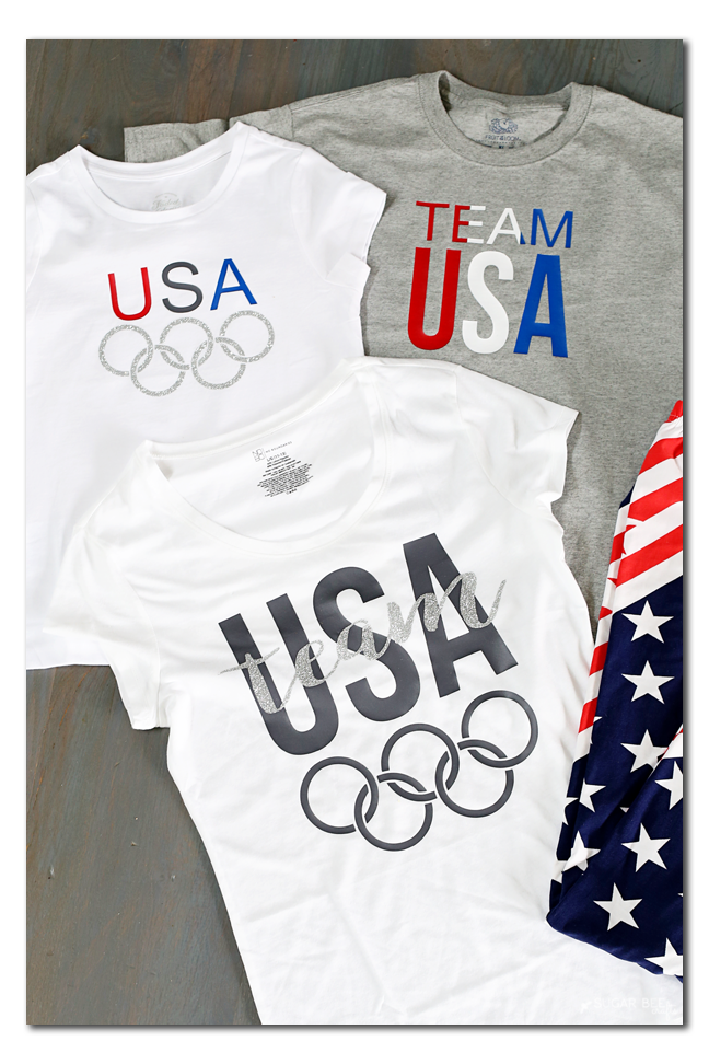 make your own team usa shirt
