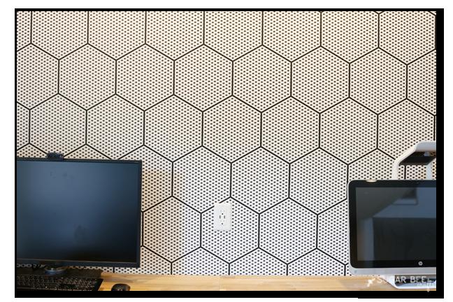 modern wallpaper seam